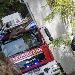 Herbstübung der Feuerwehren Sankt Florian