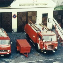 Das Feuerwehrhaus bis 2005