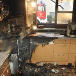 Brandgeschädigte Haushalte